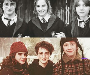 always, hermione, and harry potter image