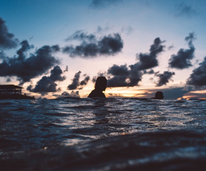 beach, hipster, and surf image