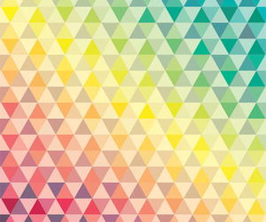 triangle and colors image