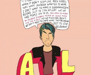 alex gaskarth, all time low, and future hearts image