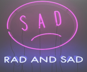 sad, grunge, and rad image