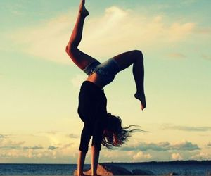 girl, dance, and summer image