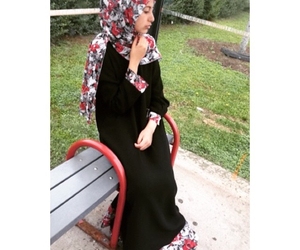 hijab, abaya, and Ramadan image