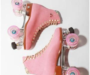 pink, skate, and vintage image