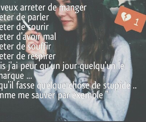 je t'aime, Mal, and souffrance image