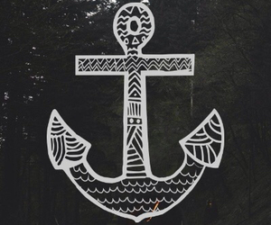 anchor, love, and forest image
