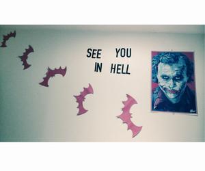 batman, hell, and room decor image