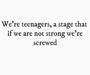 teenager, life, and strong image