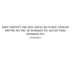 love, svenska citat, and swedishquotes image