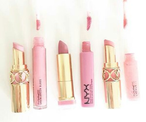 mac, pink, and love image