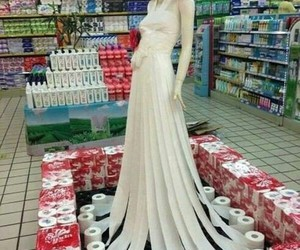dress and funny image