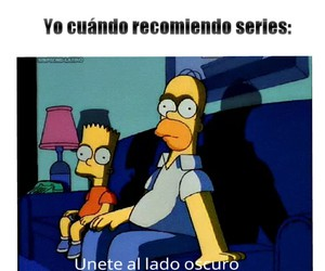 series, simpsons, and teen wolf image