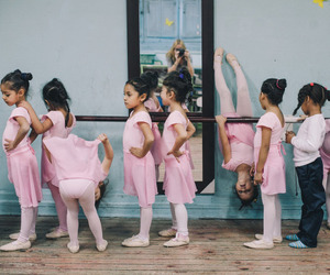 ballet, girly, and kids image