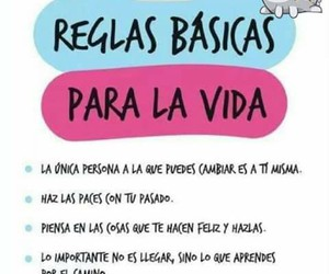 rules, frases, and vida image