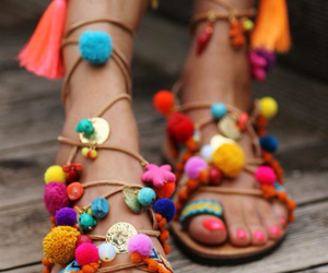 shoes, summer, and sandals image