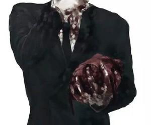 blood, anime, and art image