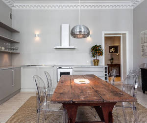 apartment, interior, and silver image
