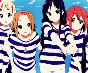 k-on and anime girls image