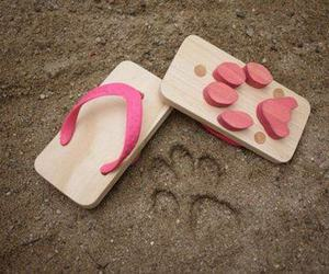 shoes, pink, and sandals image