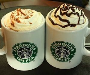 starbucks, coffee, and cream image