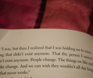 book, quote, and change image