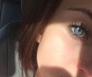 eyebrow, eyes, and girl image