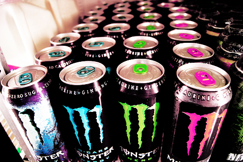 monster, drink, and green image