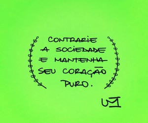 coracao, frase, and heart image