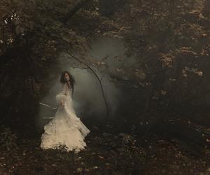 dress, white, and sealed image