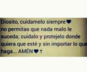 dios, alor, and fe frases ❤ image