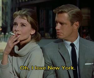 new york, audrey hepburn, and Breakfast at Tiffany's image