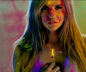 color, paint, and kesha image