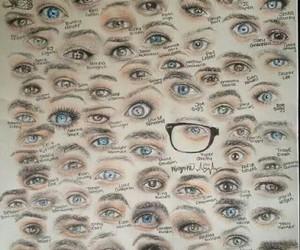 youtube, youtubers, and eyes image