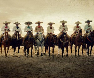 charros and horses image