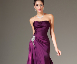 evening dress, fashion, and dresses image