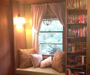 books, decoration, and geek image