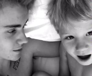 baby, justin, and mine image
