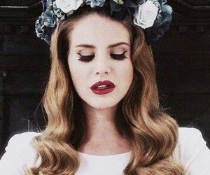 lana del rey, born to die, and flowers image