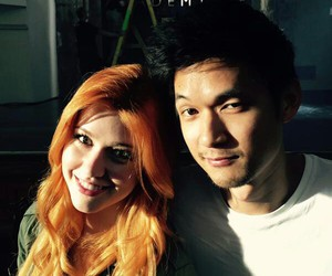 shadowhunters, magnus bane, and clary fray image
