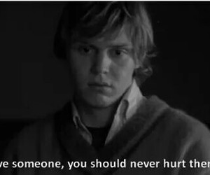 tate, american horror story, and love image