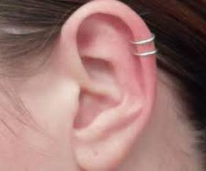 double, ear, and hoop image