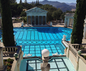 mansion, hearst castle, and heart castle image