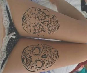 artist and tattoo image