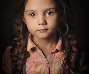 adorable, baby girl, and beautiful image