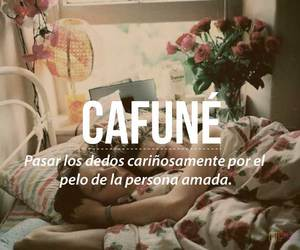 love, word, and cafune image