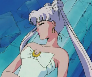 sailor moon, anime manga, and queen serenity image