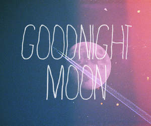 moon, goodnight, and night image