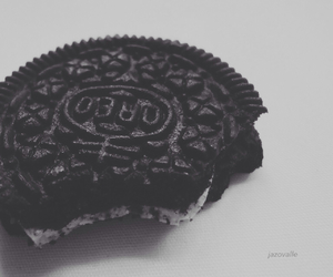 black, black and white, and chocolate image