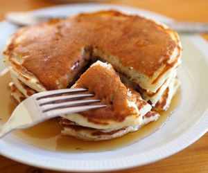 breakfast, food, and maple syrup image