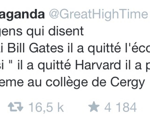 bill gates, college, and drole image